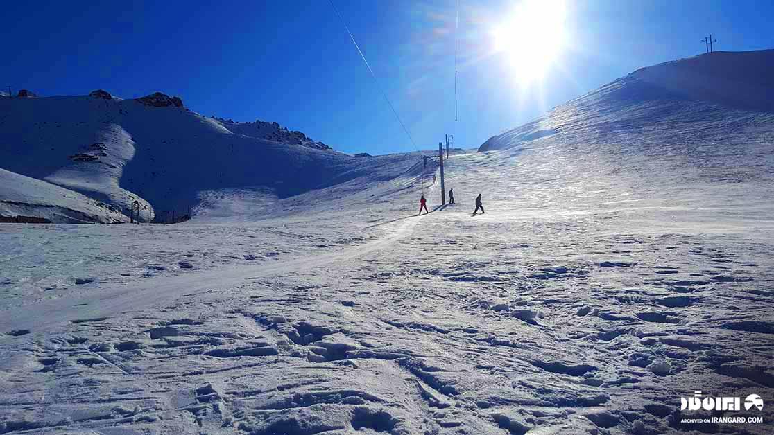 بهترین پیست اسکی ایران - پیست آبعلی