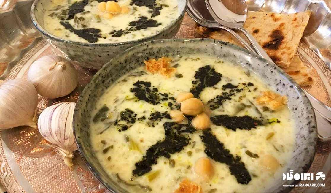 آش دوغ، غذای محلی استان اردبیل