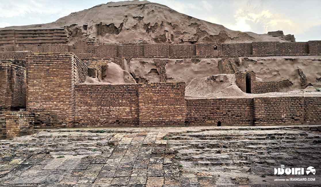 معبد زیگورات چغازنبیل در شوش