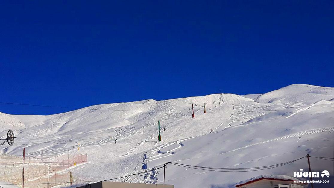 بهترین پیست اسکی ایران - پیست اسکی خور