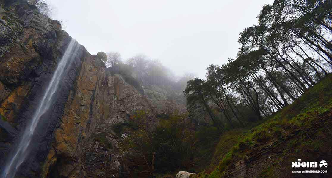 مرتفعترین آبشار چهار فصل ایران
