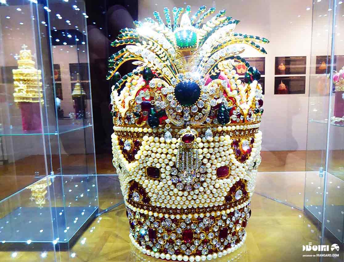 جواهرات سلطنتی ایران - تاج کیانی