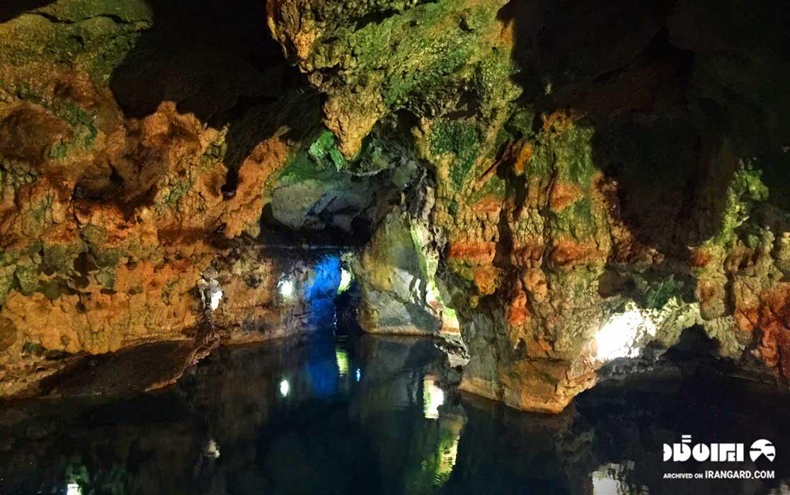 غار سهولان در نزدیکی آبشار شلماش