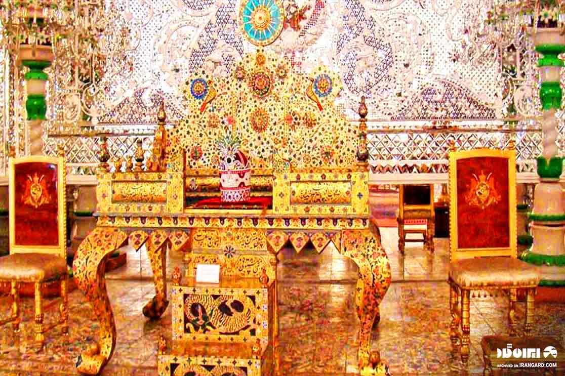 موزه جواهرات ملی - تخت طاووس