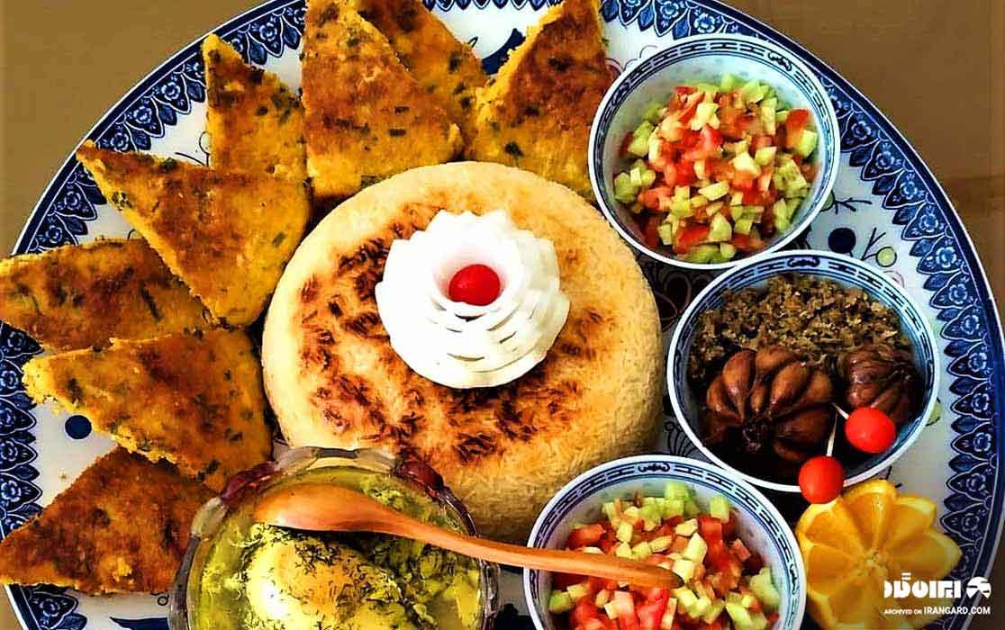 غذاهای محلی گیلان - کوکوی اشپل
