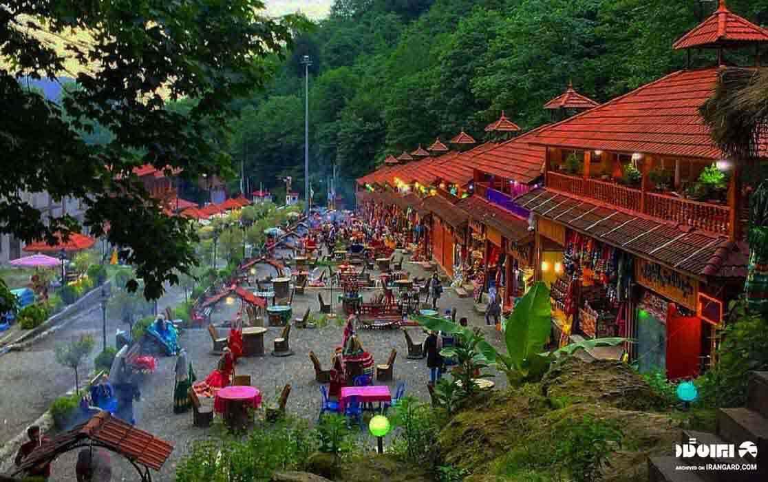بازارچه قلعه رخون