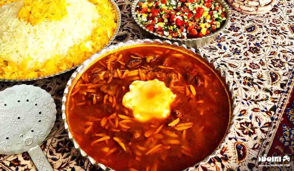 قیمه پیچاق،غذای محلی اردبیل