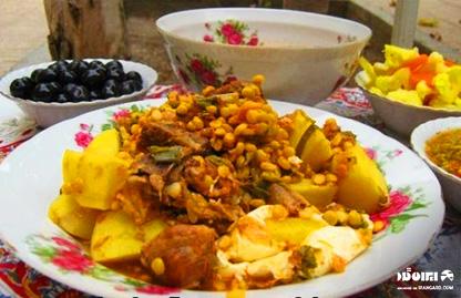 غذاهای محلی تبریز