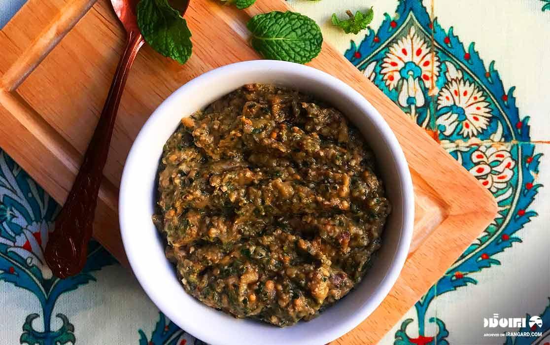 غذای محلی گیلان - کال کباب