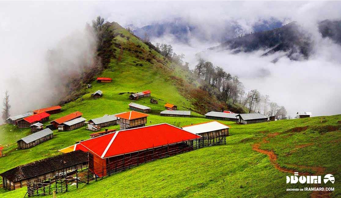 دیدنی های ماسال - روستای اولسبلنگاه