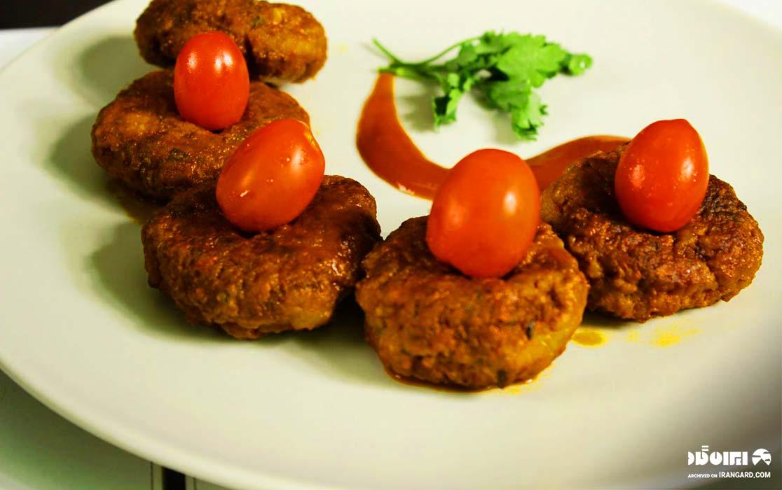 غذاهای محلی گیلان - ترشه شامی