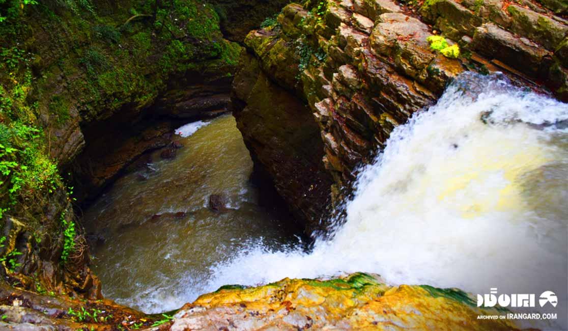 آبشار ویسادار - بهترین آبشارهای ایران