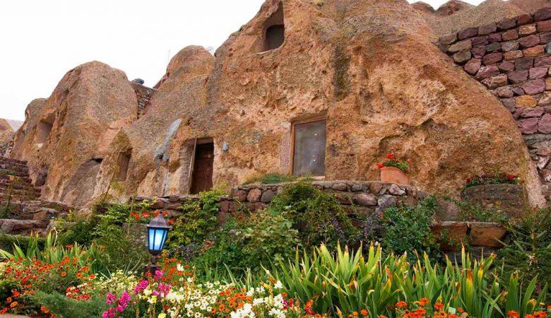 روستای کندوان تبریز؛ تنها روستای صخره ای قابل سکونت