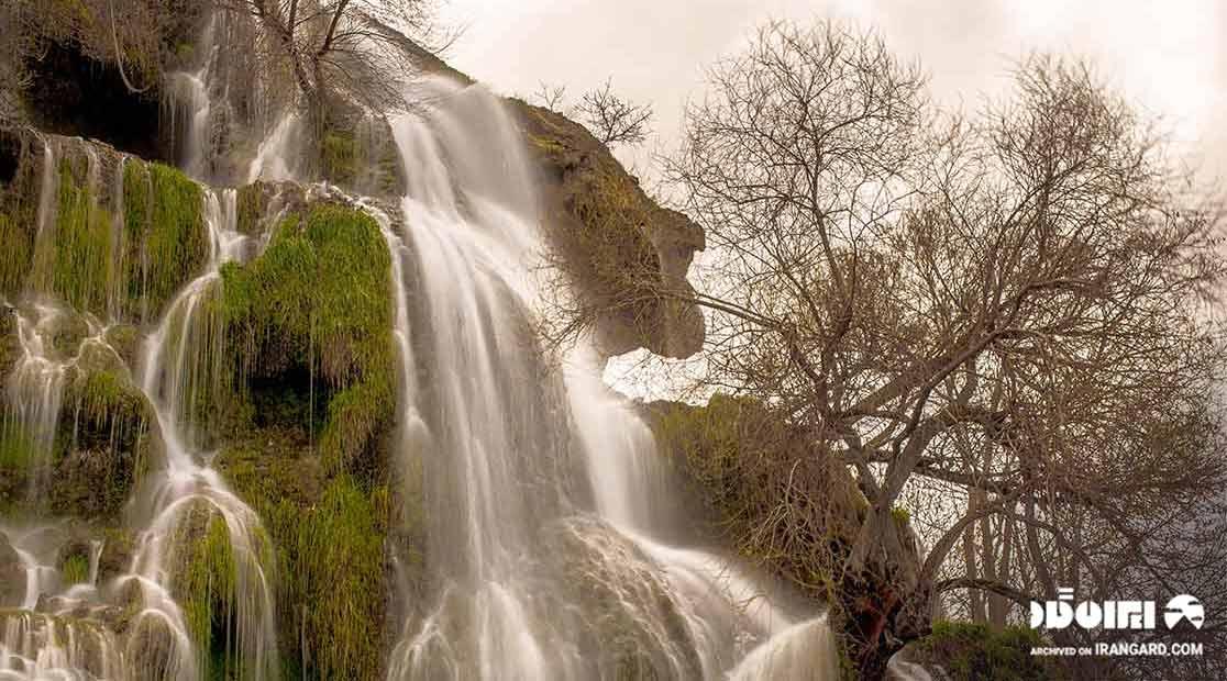 جاهای دیدنی کاشان - آبشار نیاسر کاشان