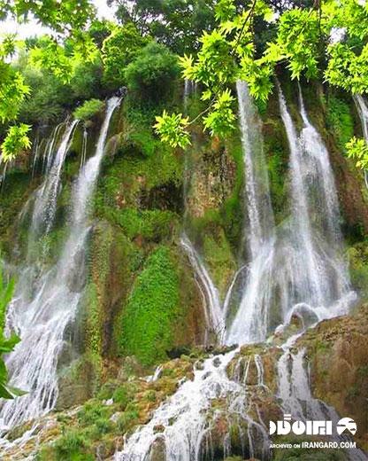 آبشار وارک کجاست
