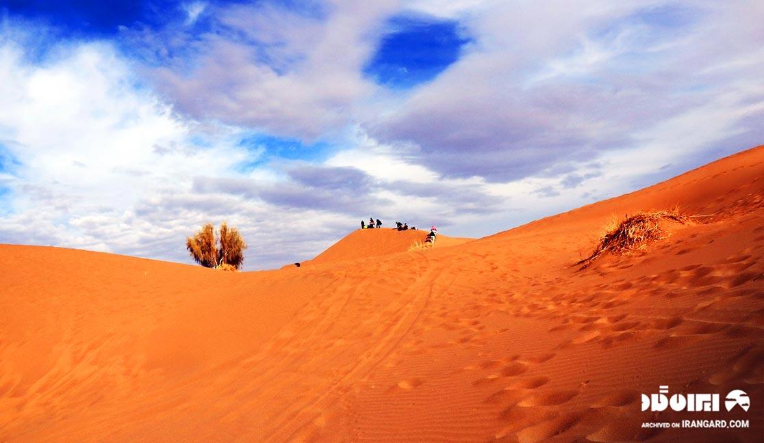کویر واقع در روستای مصر