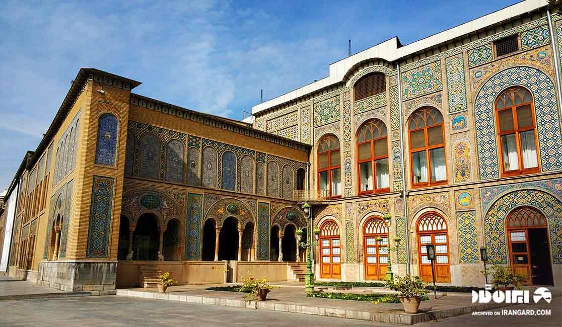 تاریخچه کاخ گلستان