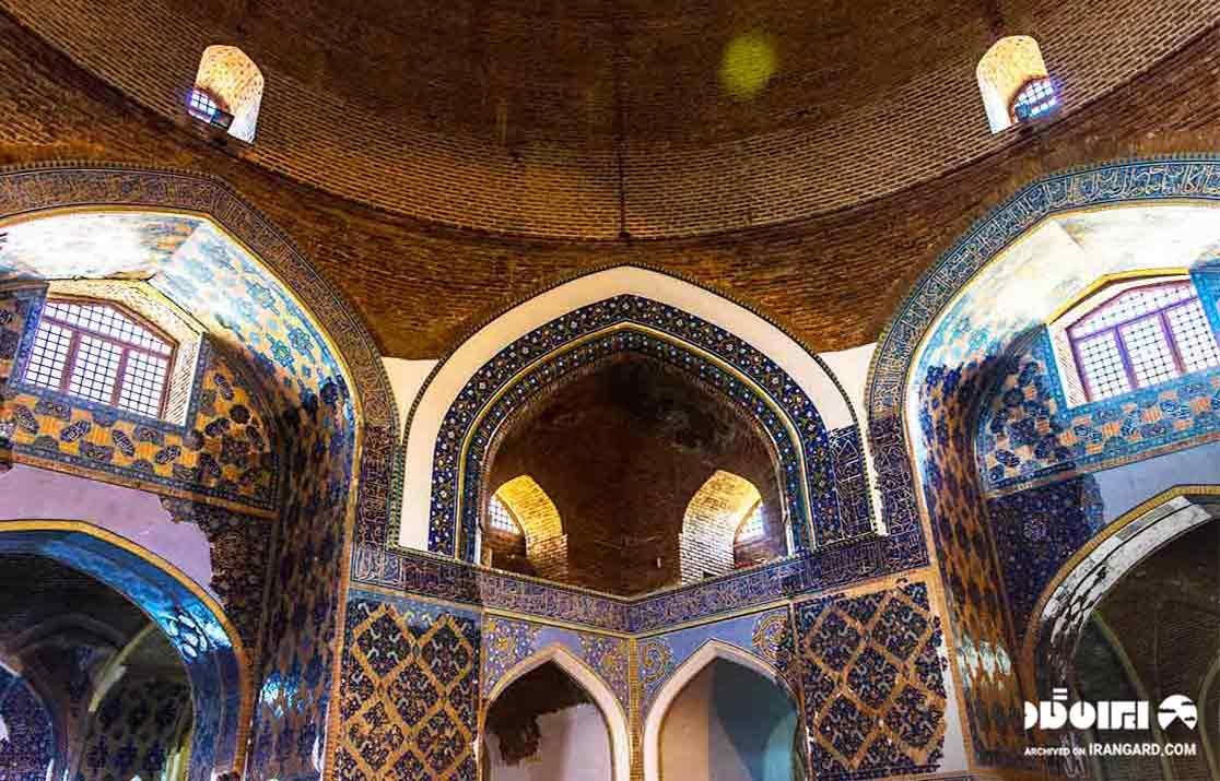جاهای دیدنی تبریز - مسجد کبود