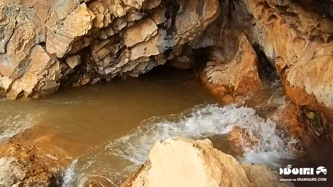 غار دنگزلو