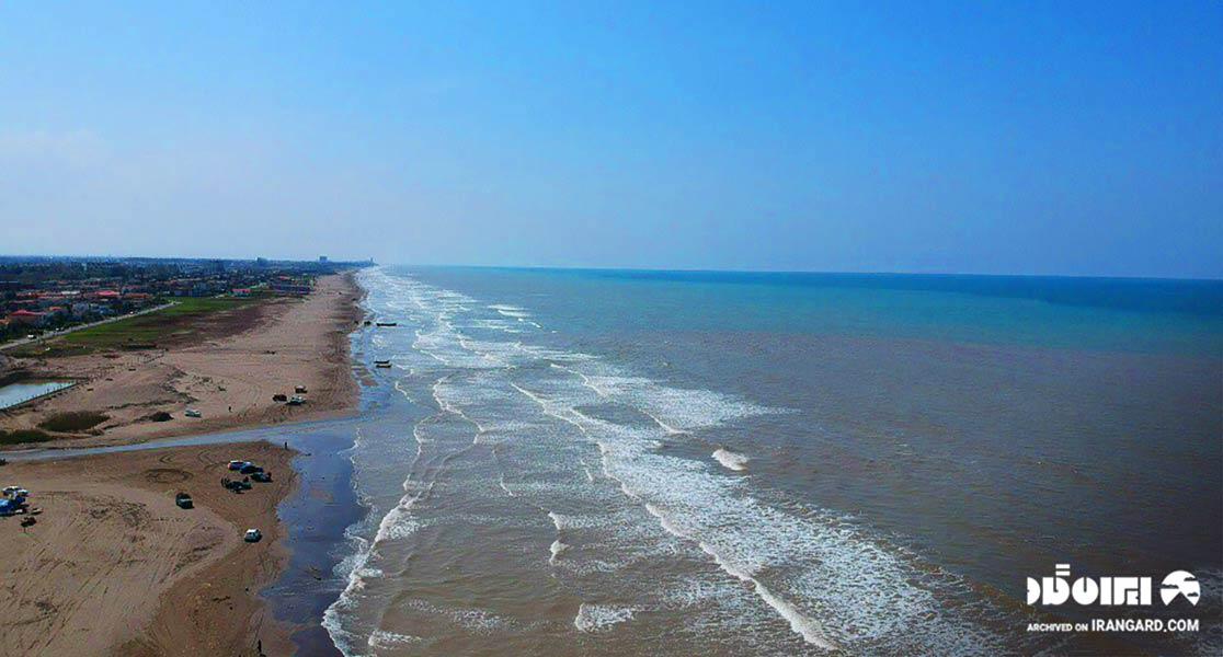 ساحل سرخرود محمودآباد