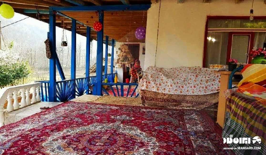 اقامتگاه های بوم گردی استان گیلان