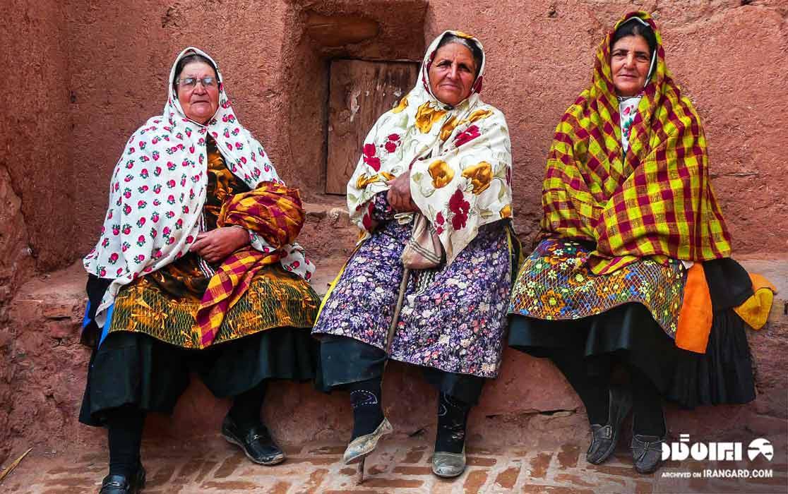 لباس سنتی روستای ابیانه