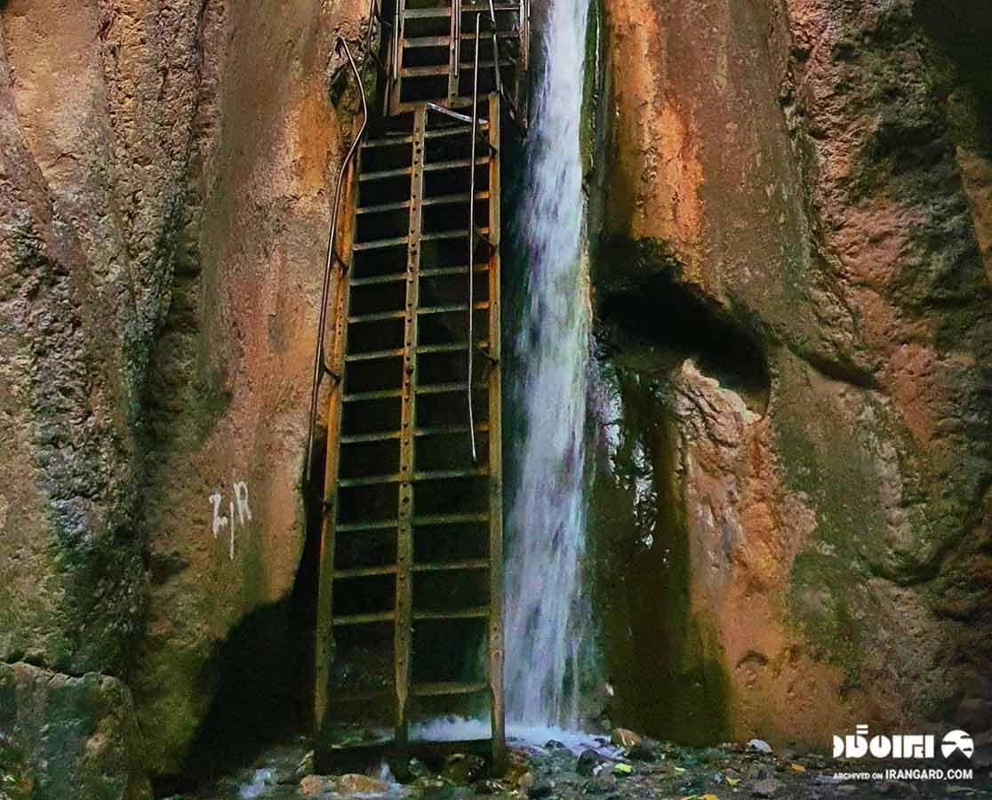 دیدنی های اطراف کلات نادری - آبشار قره سو