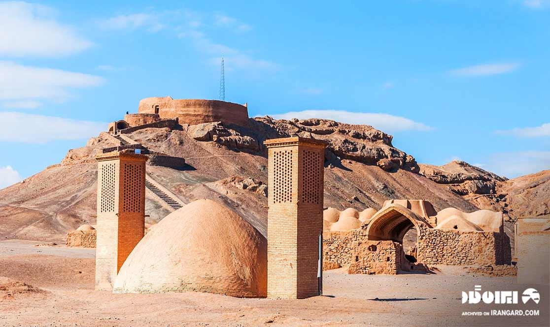 دیدنی های یزد - برج خاموشان