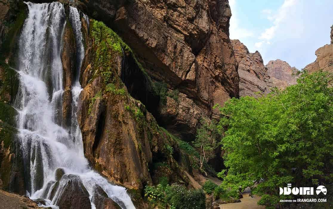 بهترین آبشارهای ایران - آبشار آب سفید