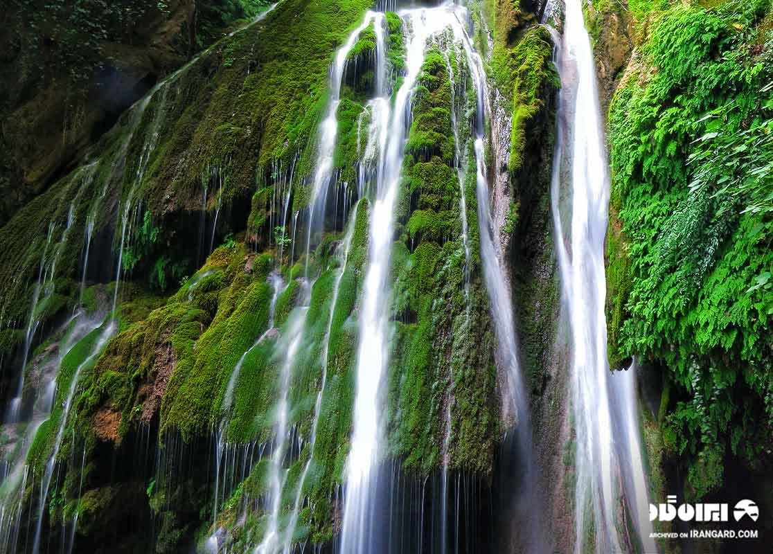 زیباترین آبشارهای ایران
