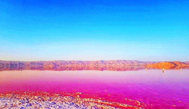 دریاچه مهارلو شهر شیراز