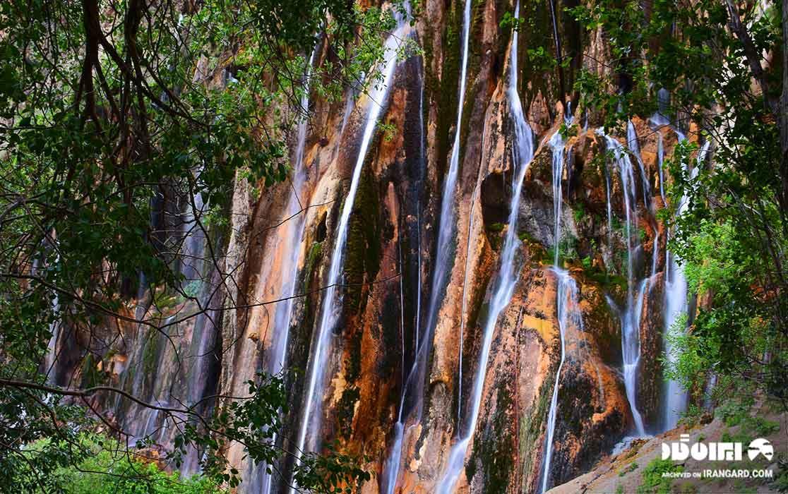 زیباترین آبشارهای ایران - آبشار مارگون