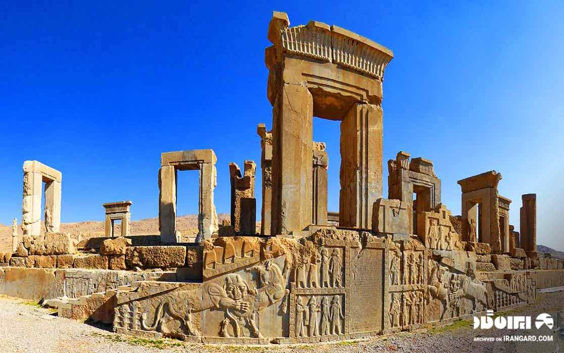 کاخ تچر تخت جمشید شیراز