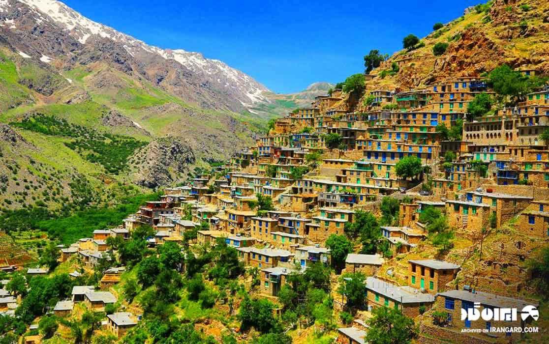 روستای اورامان کجاست