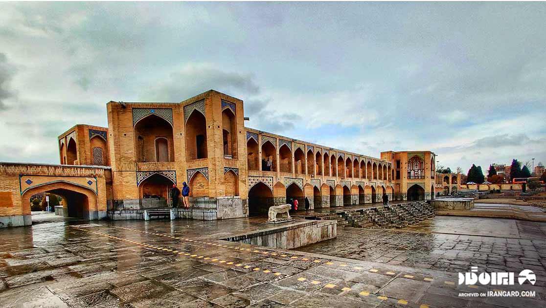 معماری پل خواجو اصفهان