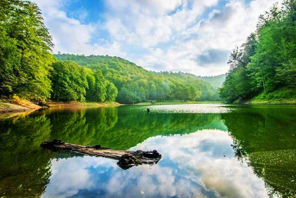 دریاچه چورت ساری