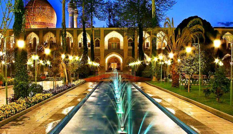 هتل عباسی بهترین هتل اصفهان