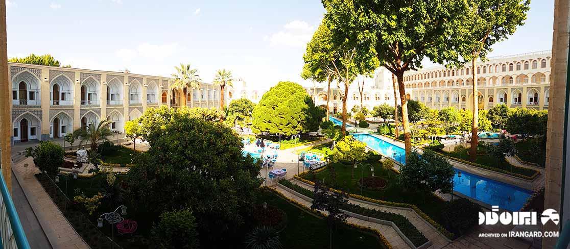 هتل عباسی از بهترین هتل های اصفهان