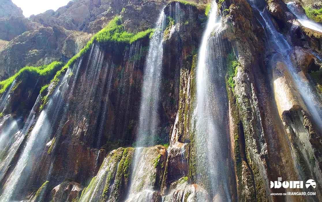 آبشار مارگون کجاست