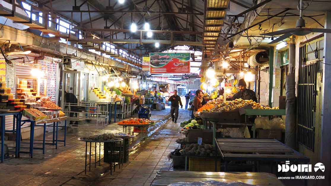 بازار صفا از دیدنی های بوشهر