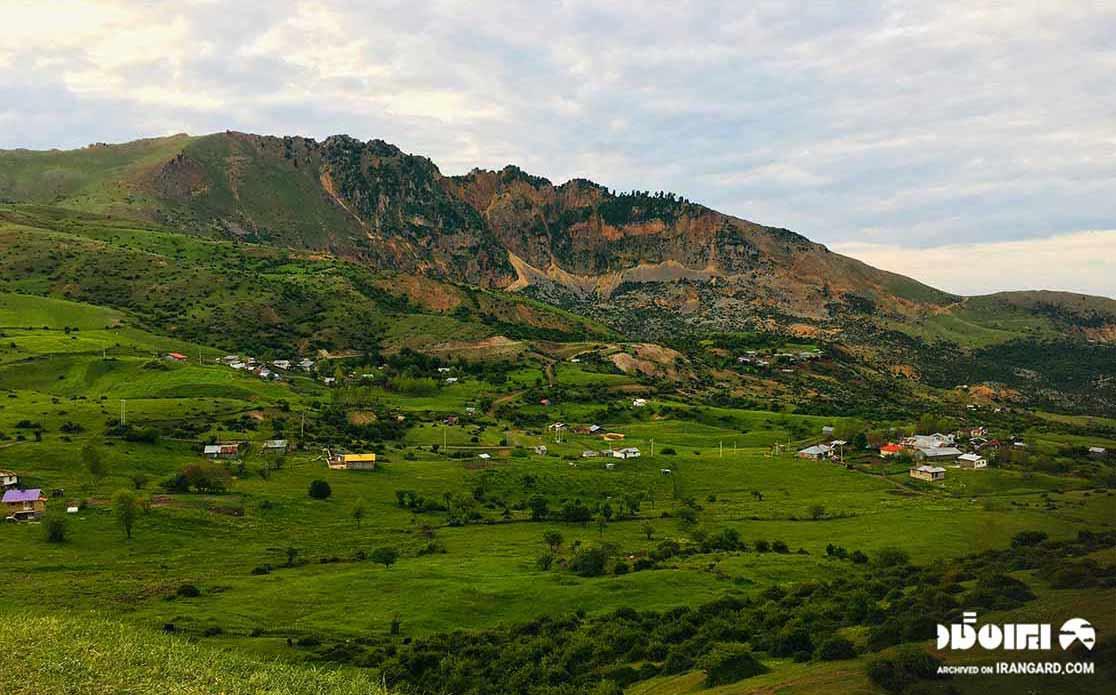 روستای شاه شهیدان در نزدیکی سیاهکل