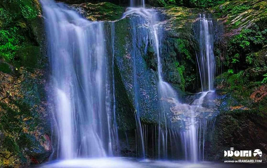 آبشار کلیره در استان مازندران