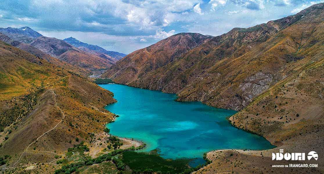 دریاچه آب شیرین گهر در استان لرستان