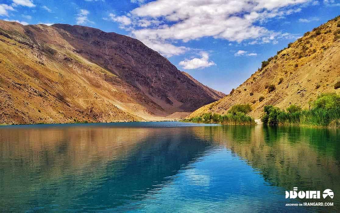 دریاچه گهر در لرستان