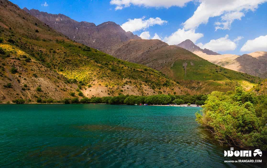 دریاچه آب شیرین در لرستان