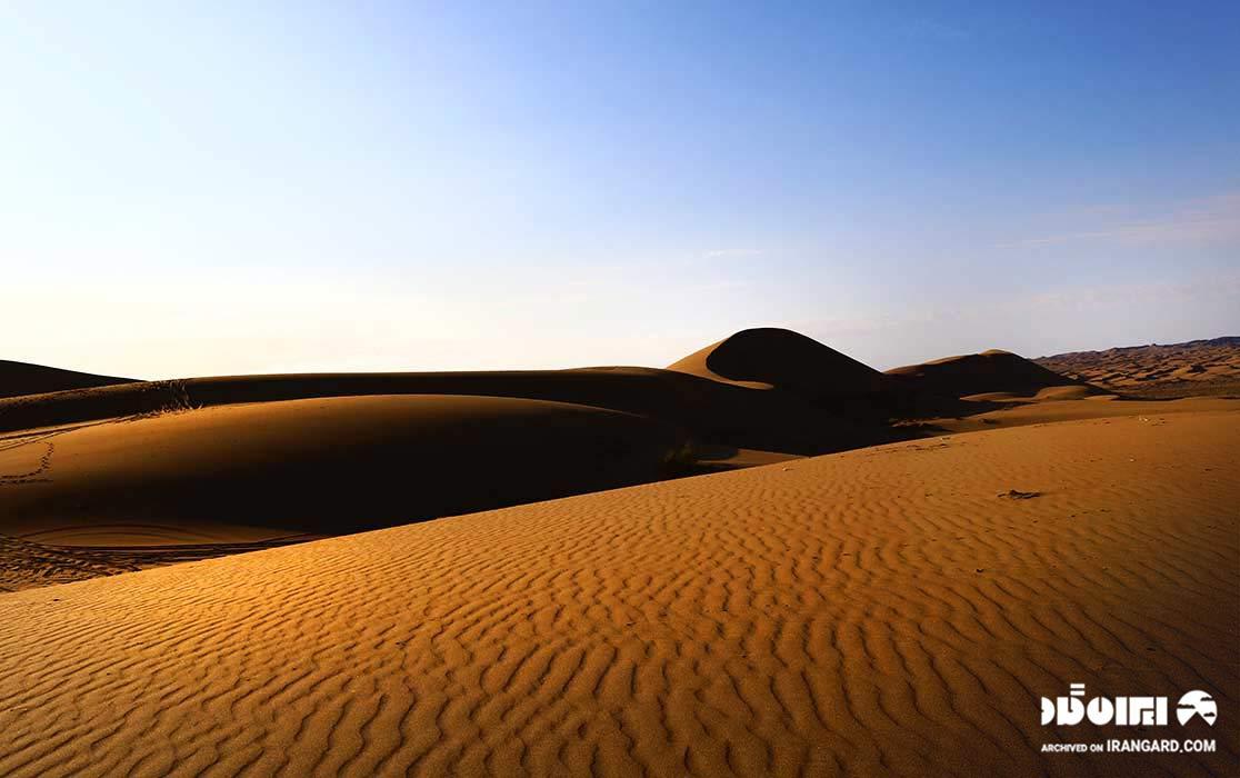 پارک ملی کویر در گرمسار