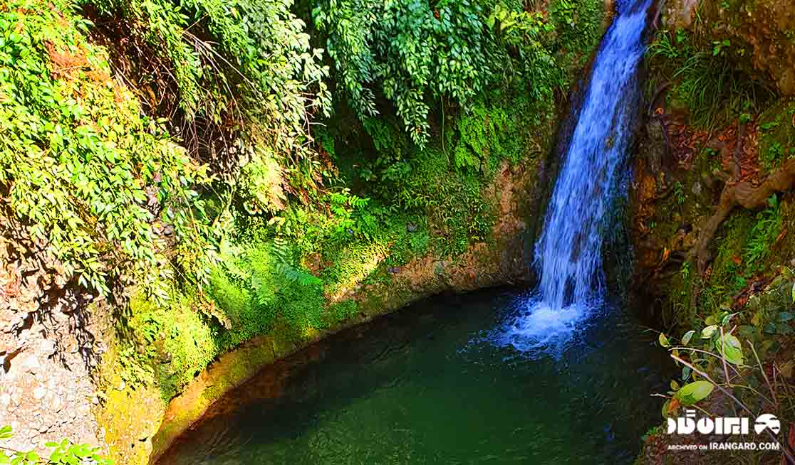 حوضچه آبشار پلنگ دره