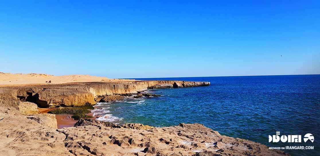 ساحل دریا بزرگ - تور چابهار
