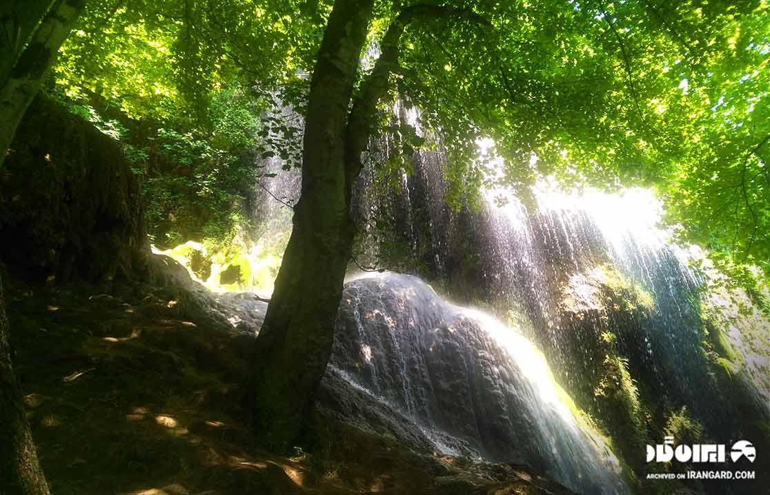 آبشار پیرغار گالیکش-فارسیان