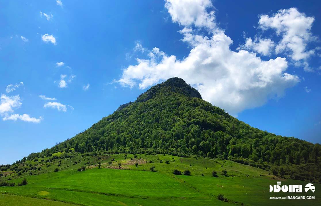 قله کوه موران